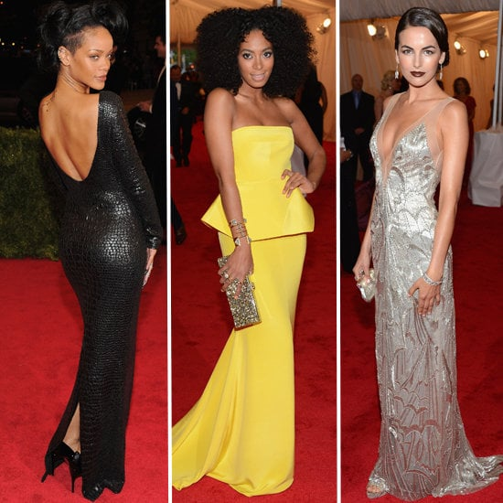 Let's review: all the top trends from the Met Gala 2012 red carpet. Want more? Check out the most beautiful accessories from the night, too.