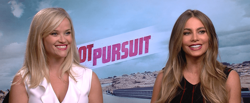"Reese Witherspoon: Sofia Vergara Was ""Really Nervous"" For Our Hot Pursuit Makeout Sesh"