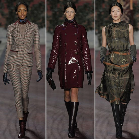 Review and Pictures of Tommy Hilfiger 2012 Fall New York Fashion Week Runway Show