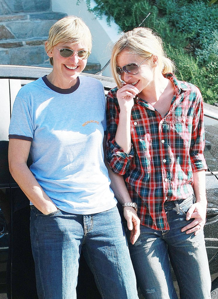 They cuddled up in LA in October 2008.