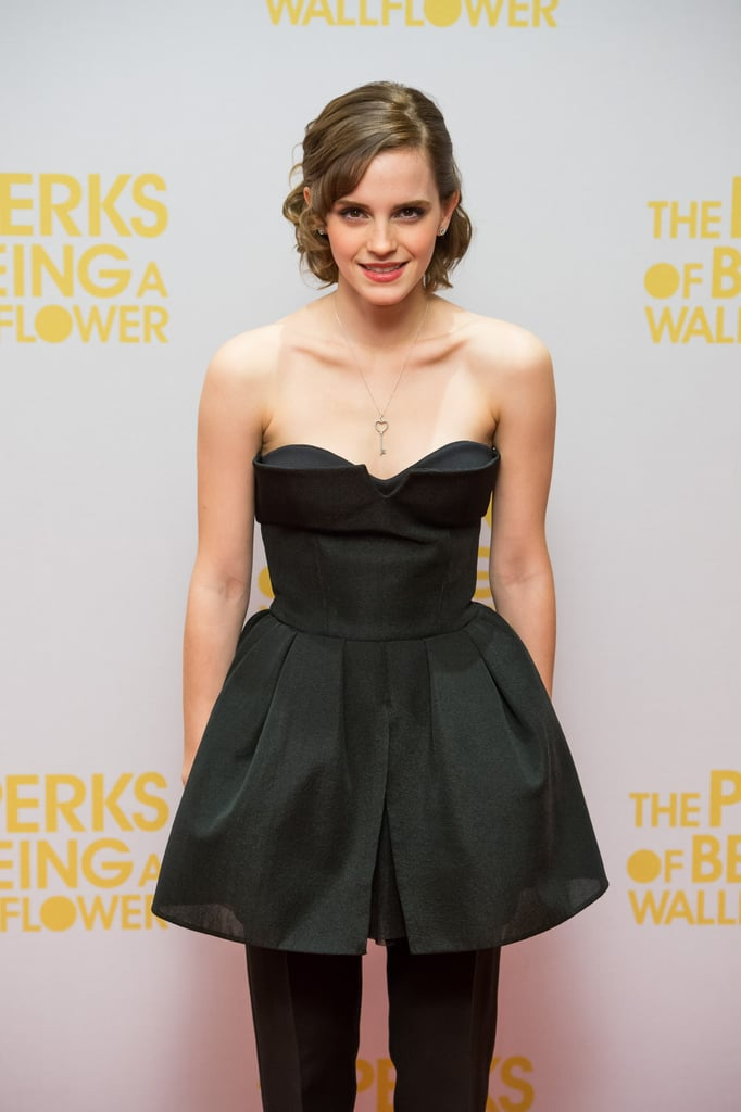 Emma Watson Dresses Up Pants For a Special Perks Screening