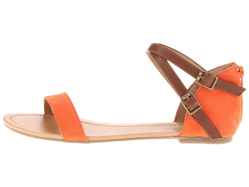 Rock a two-toned style like this Call It Spring flat ($40).