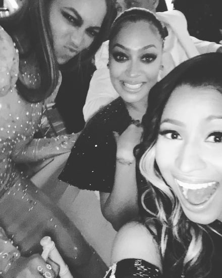 Nicki Minaj and Beyonce Met Gala Instagram Photo 2016