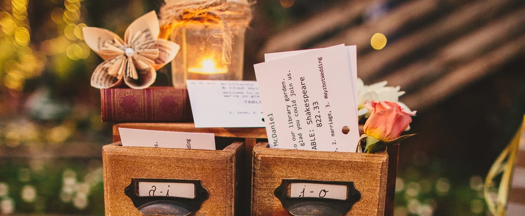 47 Ways to Add Literary Charm to Your Wedding