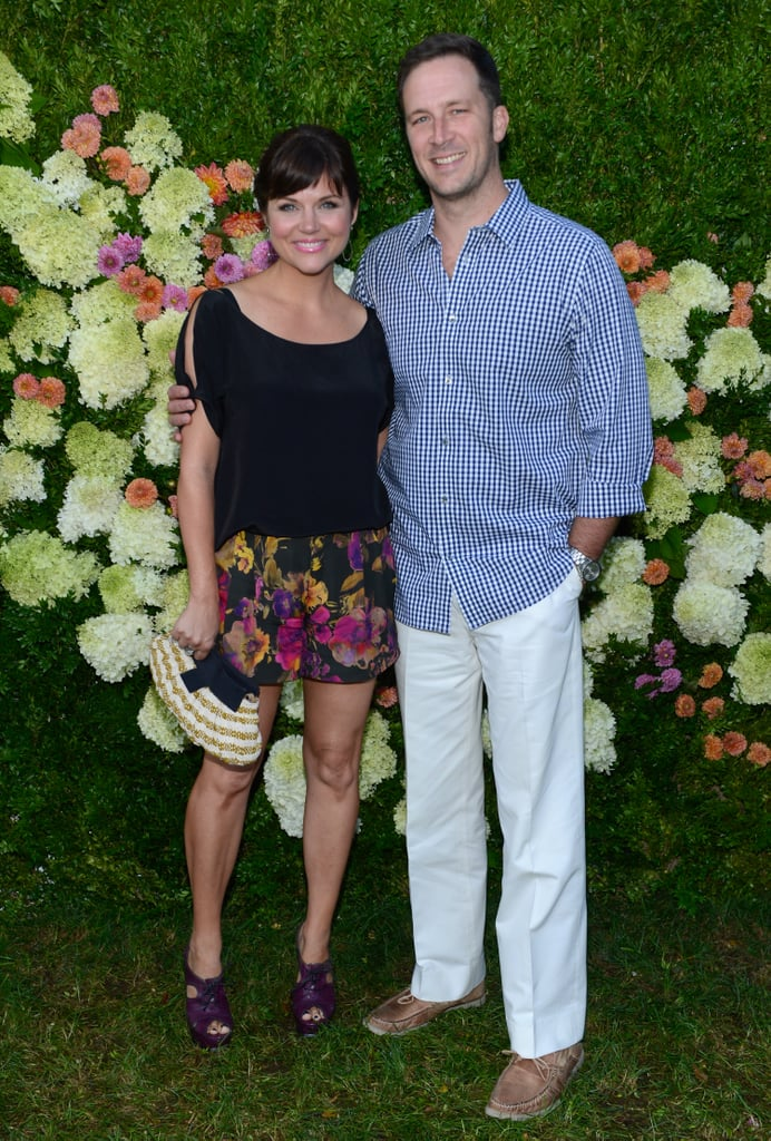 Tiffani Thiessen and Brady Smith also dropped by the event.