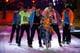 Nicki Minaj took the catwalk to perform in 2011.