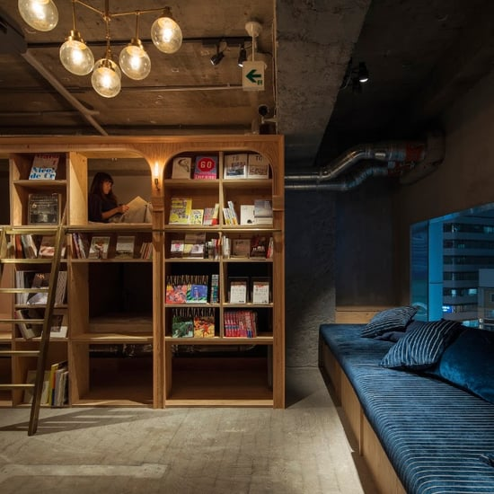 Bookstore-Themed Hotel in Tokyo