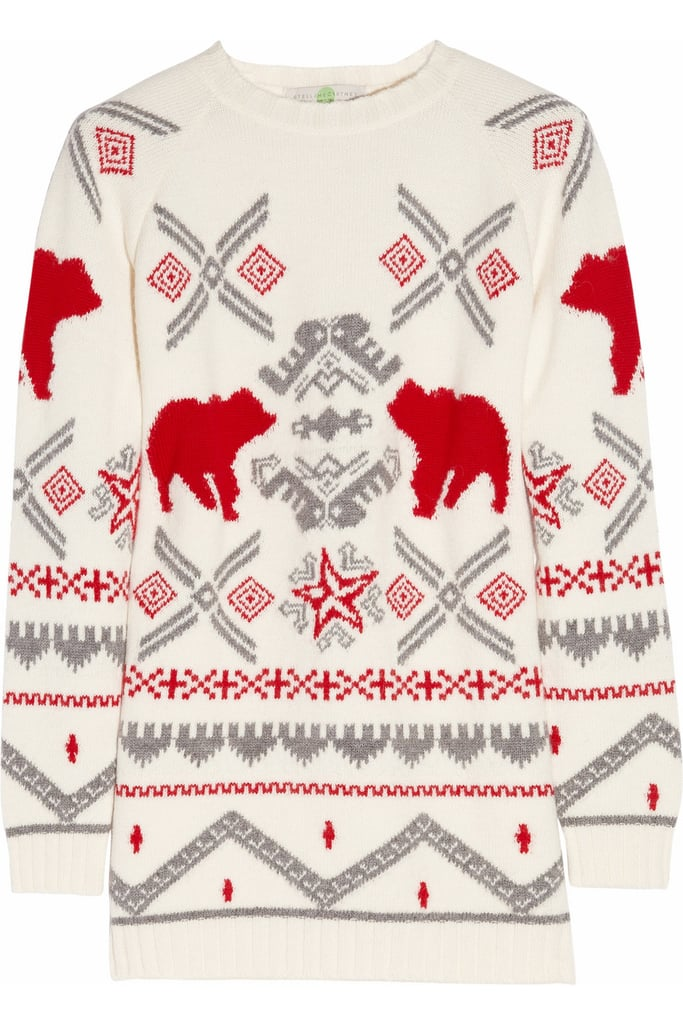 Snap up Stella McCartney's holiday-ready sweater ($229, originally $1,145) now and pull it out once the Winter creeps in.