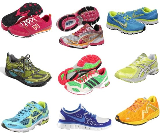 Bright, Colorful Running Shoes