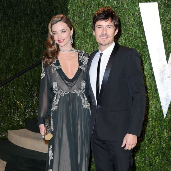 Miranda Kerr and Orlando Bloom at Vanity Fair Oscars Party