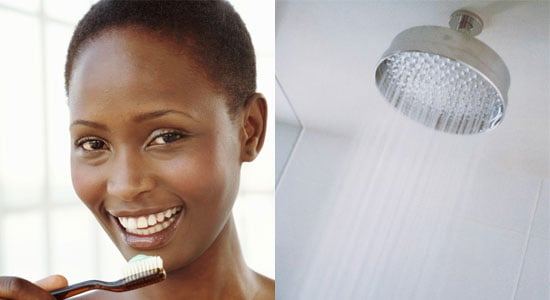Do You Brush Your Teeth in the Shower?