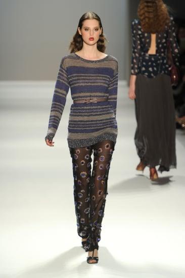Fall 2011 New York Fashion Week: Rebecca Taylor 2011-02-11 13:34:21
