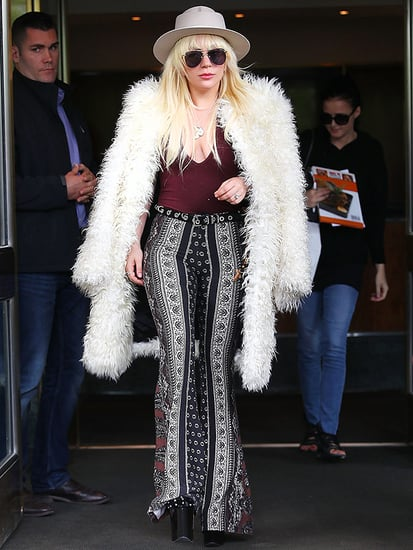 Lady Gaga Channels Almost Famous' Penny Lane for Her Weekend Look: Is Kate Hudson Responsible?