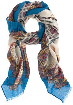 Riviera wool scarf