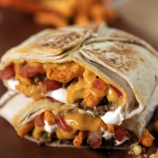 Taco Bell Cheetos Crunchwrap | Food Video