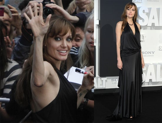 Pictures of Angelina at the German Premiere of Salt
