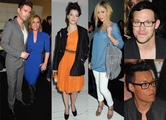 Photos From 2009 Autumn London Fashion Week Including Daisy Lowe, Will Young, Gok Wan, Peaches Geldof, Dave Berry, Heidi Range