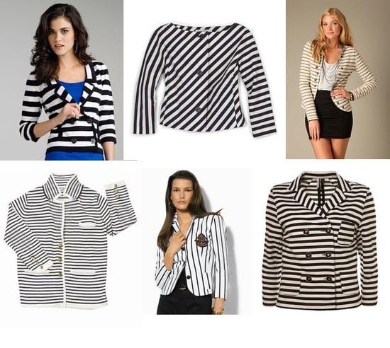 Shopping: Black & White Jackets For Midseason