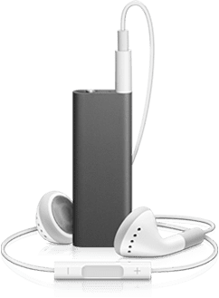 The new iPod Shuffle's Controls Are in the Headphones