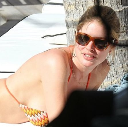 Pictures of Doutzen Kroes and Sunnery James in Miami With Their Baby Phyllon Joy Gorre