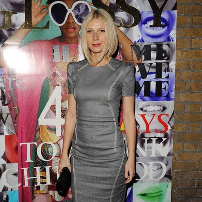 Gwyneth Paltrow at Rumble in the Jumble in London