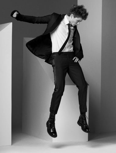 Fall 2007 Dior Homme ad campaign