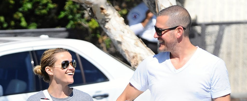 Reese Witherspoon and Jim Toth Look as Happy as Can Be While Out and About on Father's Day