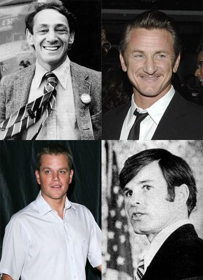 Matt Damon, Sean Penn Attached to Harvey Milk Biopic