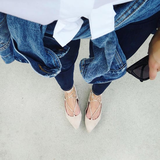 Best Shopping For Chic Lace-Up Flats