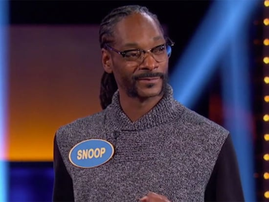 Snoop Dogg Fields a Question About His Favorite Subject - Marijuana - on Celebrity Family Feud