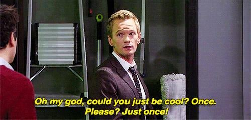 Even though he thinks Ted is the uncoolest guy in the world.