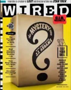 JJ Abrams Plays Editor for May Issue 17.05 of Wired Magazine