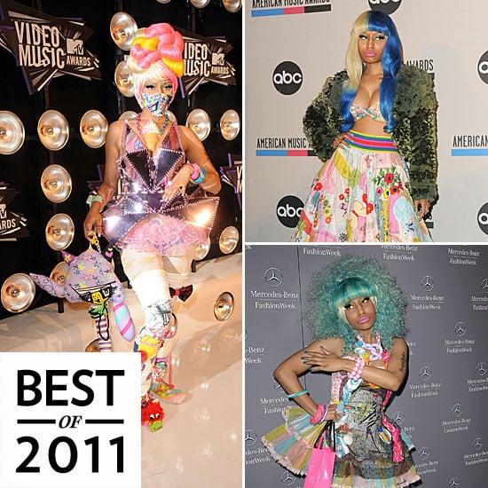 Nicki Minaj Outrageous Style in 2011