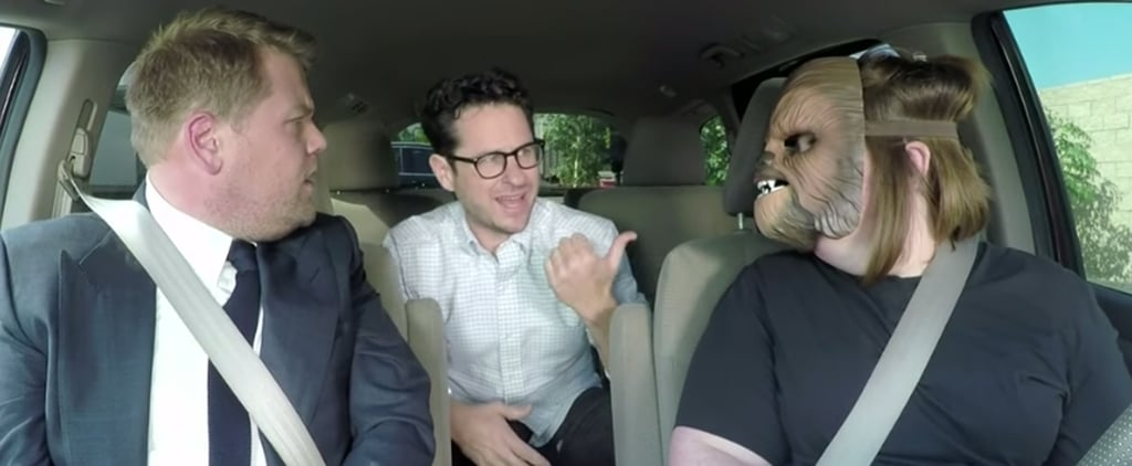 The Woman Behind the Chewbacca Mask Video Gets a Lesson From J.J. Abrams