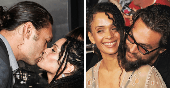 Literally Just Pictures Of Jason Momoa And Lisa Bonet Looking Hot