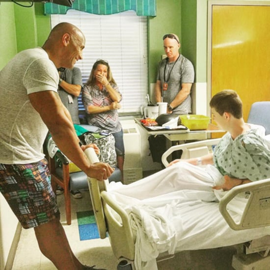 The Rock Visits Sick Kids (Video)