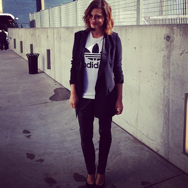 Phoebe Tonkin looked stylish for an event. Source: Instagram user phoebejtonkin
