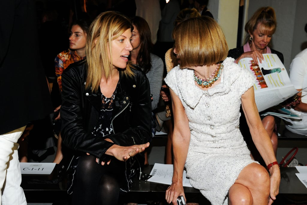 Virginia Smith and Anna Wintour