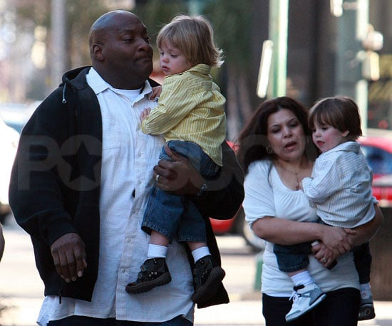 Photos of Sean Preston Spears Federline and Jayden James Spears Federline in New Orleans with a Security Guard and Nanny