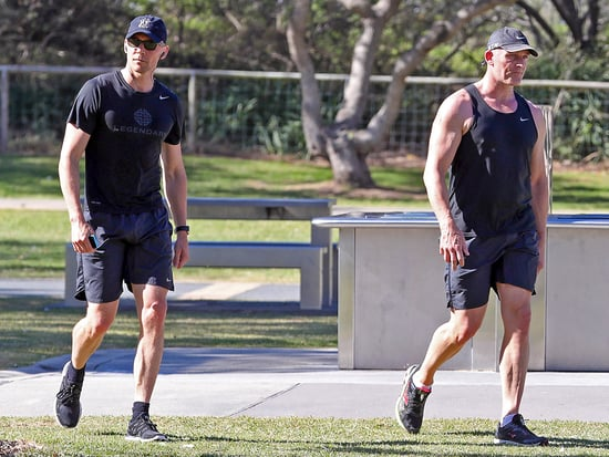 Tom Hiddleston Goes for a Run (Sans Taylor Swift) After Touching Down in Australia