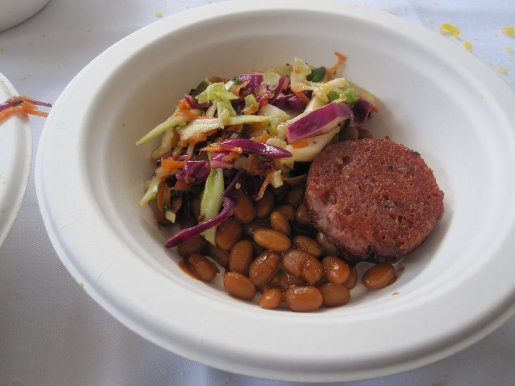 An upscale take on pork and beans; this dish was classic, but flavorful. I especially enjoyed the crispy skin on the sausage.