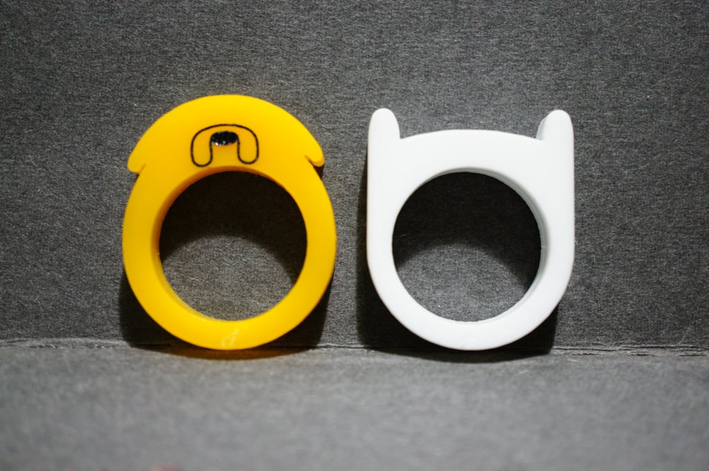 Jake and Finn's Hat Rings