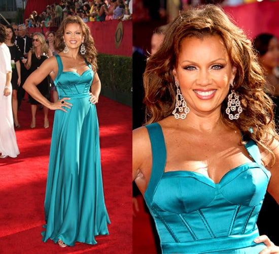 Photo of Vanessa Williams on the Emmy Awards Red Carpet