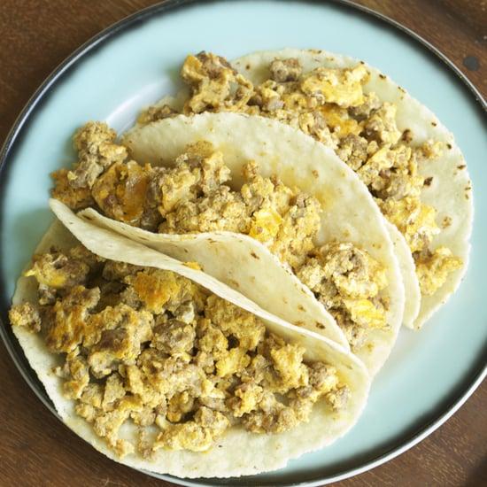 Chorizo Con Huevos Tacos Recipe
