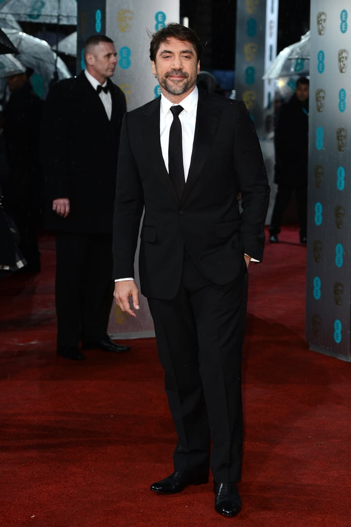 Javier Bardem attended the BAFTA Awards in London.