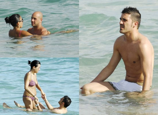 Pictures of Pepe Reina and David Villa Shirtless on Holiday in Ibiza With Girlfriends, Wives, Families