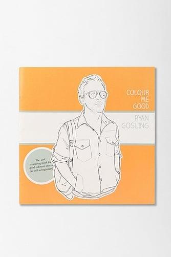 Berylune berylune ryan gosling colouring book by colour me good