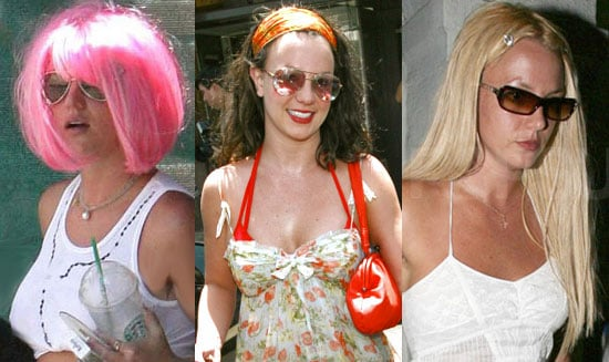 Which Wig Looks The Cutest on Britney Spears?