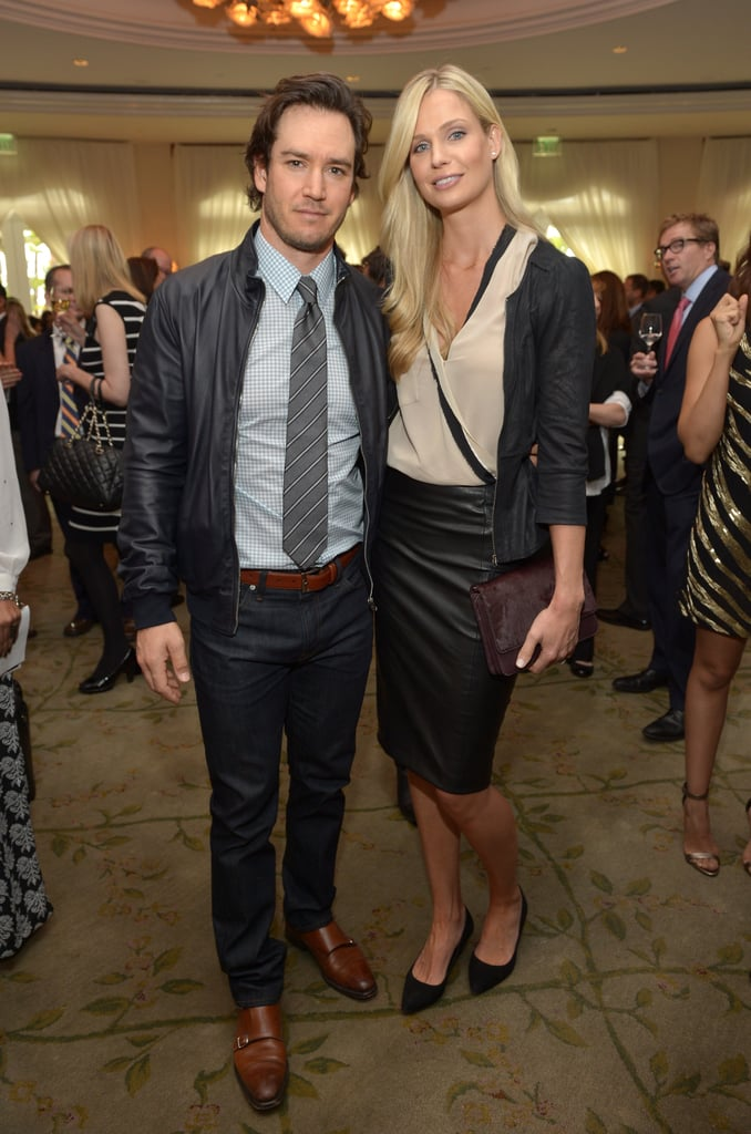 Mark-Paul Gosselaar and his wife, Catriona McGinn, attended the March of Dimes event.