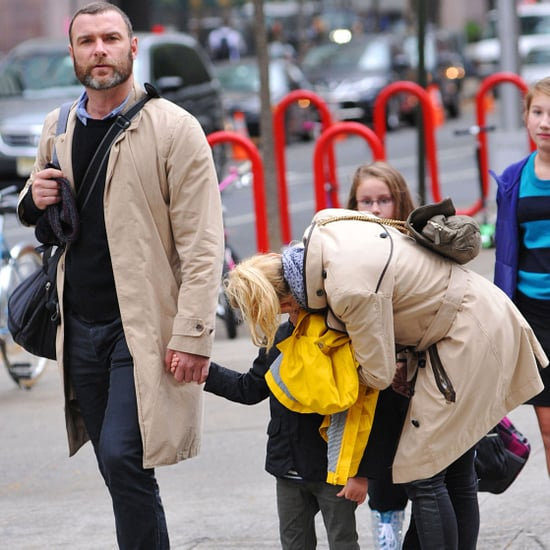 Naomi Watts With Liev Schreiber and Sons in NYC | Pictures